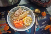 竹蔗茅根猪骨汤的做法
