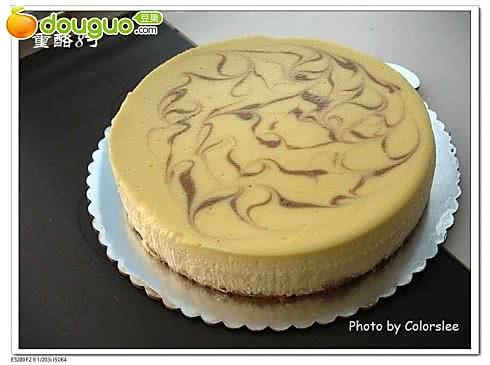 大理石重乳酪蛋糕的做法