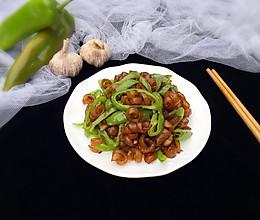 #厨此之外,锦享美味#尖椒肉皮丝的做法