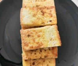 香煎烧烤豆腐的做法