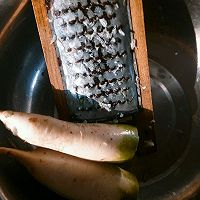 白萝卜猪肉馅饺子的做法图解2