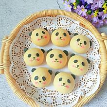 萌哒哒的熊猫烧果子,可爱得不忍心吃一口