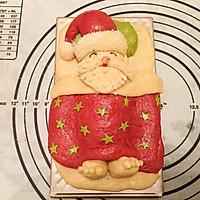 圣诞爷爷面包#圣诞烘趴 为爱起烘#的做法图解8