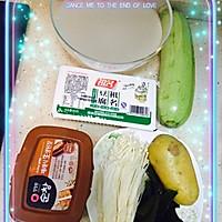 韩式大酱汤「吃它」的做法图解1