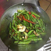 砂锅四季豆