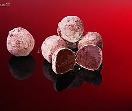糖霜巧克力的做法