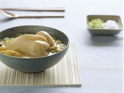 化痰健胃:柚子肉鲜鸡汤