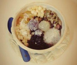 西米杂粮冰粥的做法