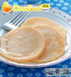 玉米蜂蜜煎饼的做法