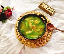 丝瓜虾皮汤的做法