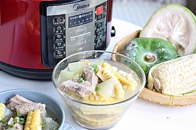夏天最爱的冬瓜玉米排骨汤