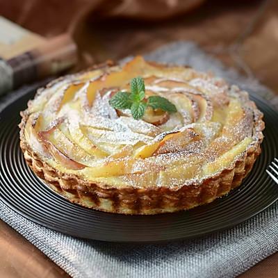 飞饼版苹果乳酪挞