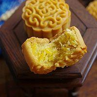 金沙奶黄肉松月饼#晒出你的团圆大餐#的做法图解24