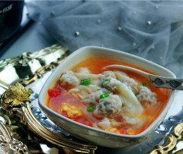 番茄鸡蛋汤馄饨的做法