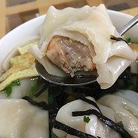虾仁猪肉馄饨的做法图解12
