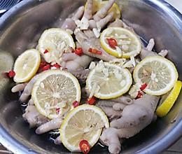 #以美食的名义说爱她#柠檬糟卤鸡爪的做法