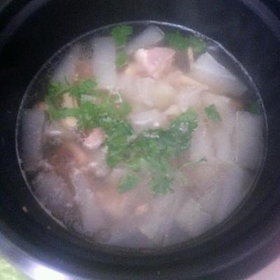 冬瓜排骨汤——用电饭煲