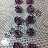 紫薯玫瑰花馒头的做法图解14