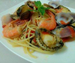 海鲜意大利面的做法