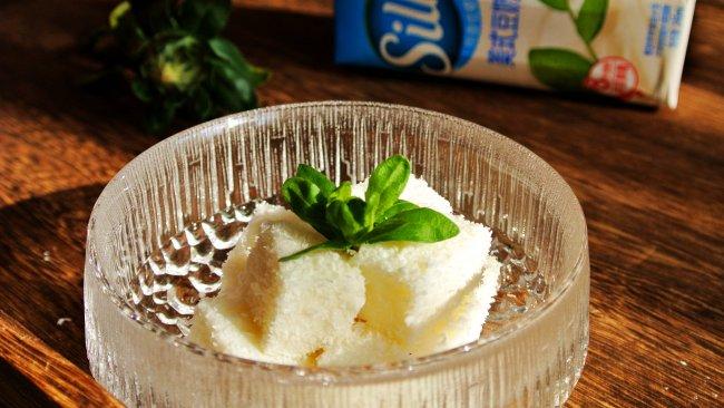 【低脂美食】豆乳椰丝小方的做法