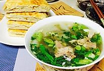 砂锅羊肉汤--冬季暖身的做法