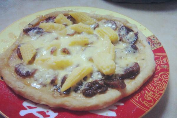 微波炉披萨的做法