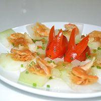 冬瓜瑶柱蒸虾米的做法图解4