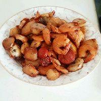 孜然鱼豆腐(墨鱼丸,鱼丸,虾丸,各种丸……)