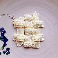 6寸水果奶油花篮裱花蛋糕(附戚风蛋糕制作)的做法图解22