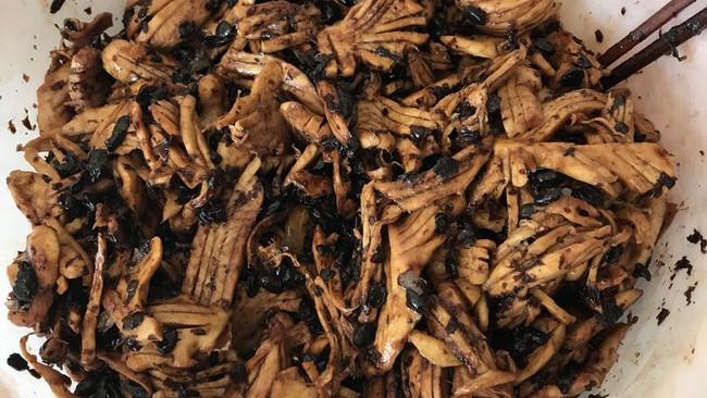 豆豉姜的做法