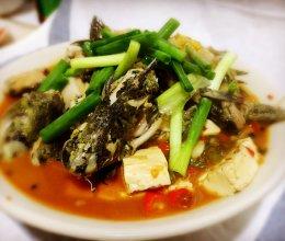 鲜椒黄辣丁炖豆腐的做法