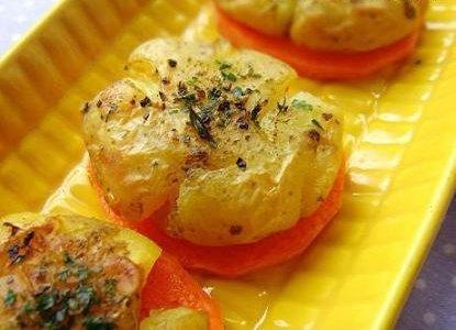 芹香碎烤小土豆的做法