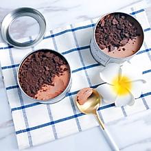顺滑无冰渣的巧克力朗姆酒冰淇淋