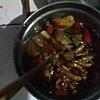 辣味滑菇的做法图解4