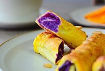 #美味烤箱菜,就等你来做!#松子紫薯烤吐司的做法