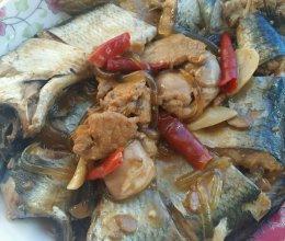 青鱼炖粉条的做法