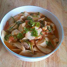下饭菜——茄汁杏鲍菇【加肉版】