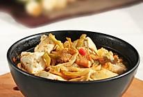 泡菜豆腐砂锅的做法