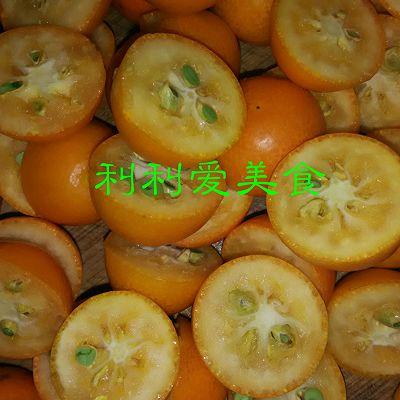 金桔果酱的做法 步骤4