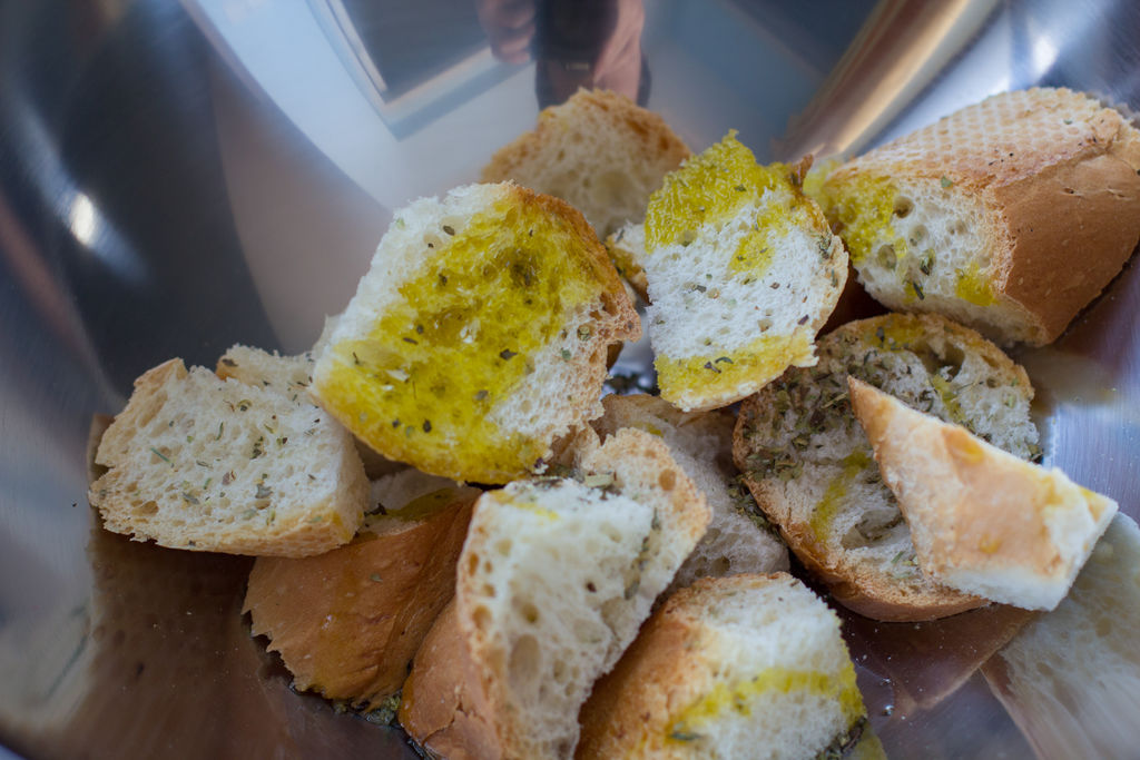 香草面包沙拉的做法_【图解】香草面包沙拉怎么做如何