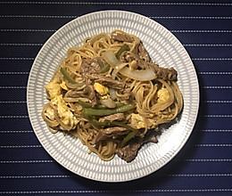 洋葱牛排牛柳炒面的做法