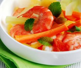 跳水泡菜虾的做法