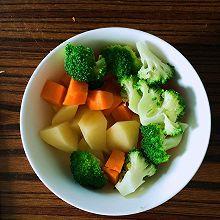 宝宝辅食蔬菜泥
