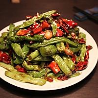 饭店的必点菜#干煸芸豆#的做法图解10