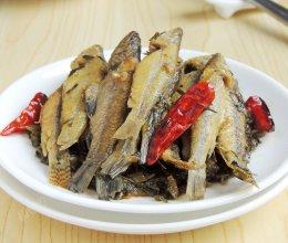 雪菜焖小鱼仔的做法