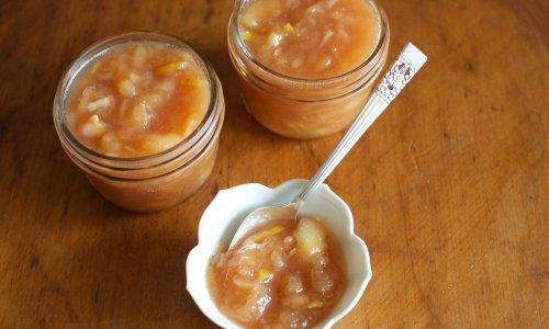 蜂蜜蜜桃果酱的做法