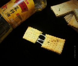 牛轧苏打饼#金龙鱼外婆乡小榨菜籽油 外婆的时光机#的做法