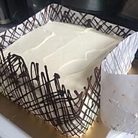 8寸生日蛋糕(方形)的做法图解14