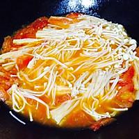 吃过就会爱上--番茄烩金针菇的做法图解10