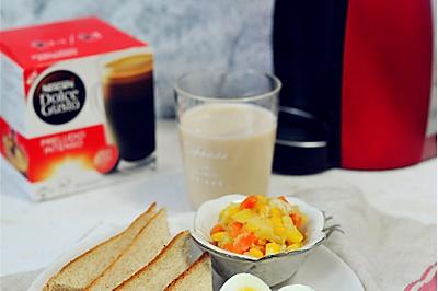 体重控制人群15分钟营养早餐#雀巢营养早餐#